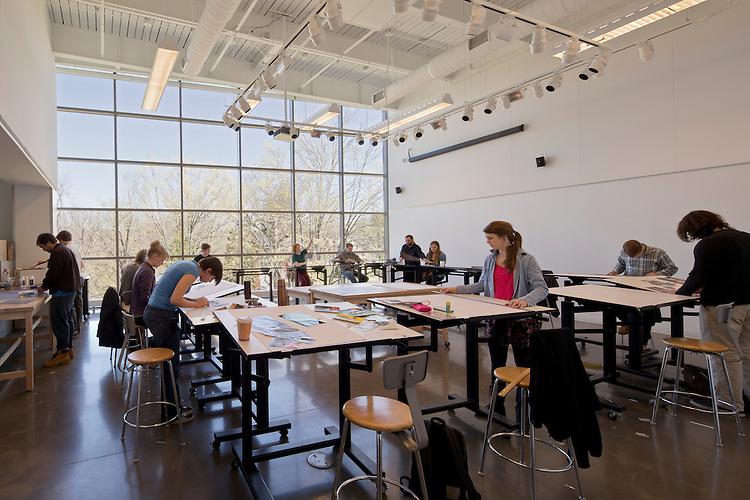 Horvitz Hall Studio Arts Building at Kenyon College   Gund Partnership