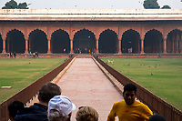 The  Diwan-i-Aam (public audience hall) stands inside the Red Fort in Delhi, India, on Tue., Dec. 11, 2018.