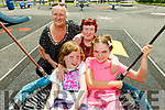 Enjoying the afternoon in the playground in Listowel on Monday.<br /> Seated l to r: Sarah Canty and Lilith Murphy<br /> Back l to r: Angela Moroney and Mary Murphy