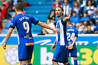 Deportivo Alaves' Christian Santos (l) and Alexis Ruano during La Liga match. October 28,2017. (ALTERPHOTOS/Acero) /NortePhoto.com