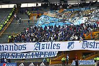 BOGOTÁ- COLOMBIA, 09-10-2021:Millonarios y América de Cali en partido por la fecha 13 como parte de la Liga BetPlay DIMAYOR II 2021 jugado en el estadio Nemesio Camacho El Campin de la ciudad de Bogotá. / Millonarios  and America de Cali in match for the date 13 as part of the BetPlay DIMAYOR League II 2021 played at Nemesio Camacho El Campin stadium in Bogota city. Photo: VizzorImage / Felipe Caicedo / Staff