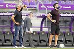 FC Barcelona's coach Quique Setien (l) and his second Eder Sarabia during La Liga match. July 11,2020. (ALTERPHOTOS/Acero)