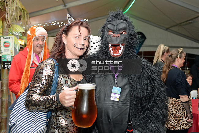 NELSON, NEW ZEALAND - OCTOBER 2: Human Zoo Party at Saxton during the NZCT 2015 South Island Masters Games, October 2, 2015 in Nelson, New Zealand. (Photo by Barry Whitnall/Shuttersport Limited)
