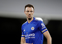 3rd February 2021; Craven Cottage, London, England; English Premier League Football, Fulham versus Leicester City; Jonny Evans of Leicester City