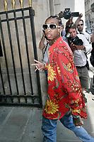 TYGA ( Michael Ray Nguyen-Stevenson ) - Show Louis Vuitton Paris Fashion Week Menswear Spring/Summer 2018 - 22 juin 2017 - FRANCE