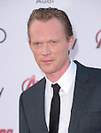 "Paul Bettany attends The World Premiere of Marvel's ""Avengers"" Age of Ultron,"" held at The Dolby Theatre in Hollywood, California on April 13,2015                                                                               © 2014 Hollywood Press Agency"