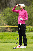 STANFORD, CA - APRIL 25: Alessandra Fanali at Stanford Golf Course on April 25, 2021 in Stanford, California.