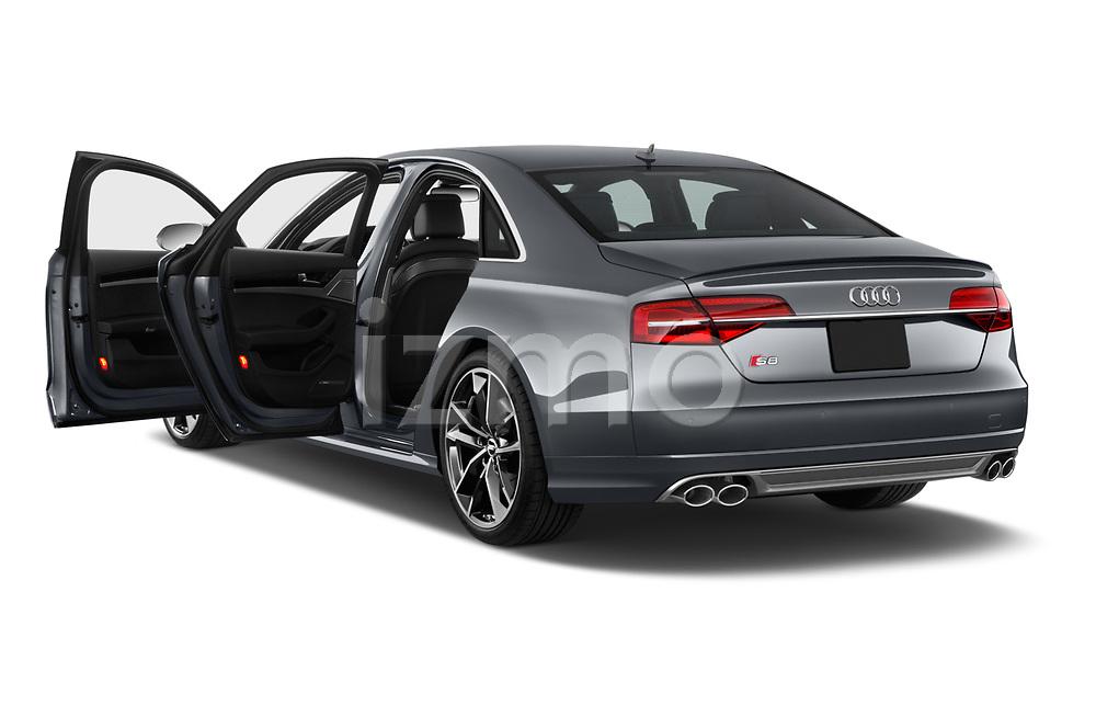 Car images close up view of 2018 Audi S8 4.0-TFSI-quattro-Tiptronic-Plus  4 Door Sedan doors