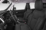 Front seat view of a 2018 Jeep Renegade Limited 5 Door SUV front seat car photos