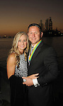 """Kimberly and Chris Olexa at the San Luis Salute """"Space Pirates"""" VIP reception Friday February 24,2017. (Dave Rossman Photo)"""
