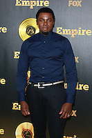 HOLLYWOOD, LOS ANGELES, CA, USA - JANUARY 06: Derek Luke at the Los Angeles Premiere Of FOX's 'Empire' held at ArcLight Cinemas Cinerama Dome on January 6, 2015 in Hollywood, Los Angeles, California, United States. (Photo by David Acosta/Celebrity Monitor)