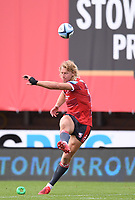 30th August 2020; Kingsholm Stadium, Gloucester, Gloucestershire, England; English Premiership Rugby, Gloucester versus Leicester Tigers; Billy Twelvetrees of Gloucester takes a conversion