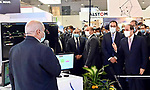 Egyptian President Abdel Fattah el-Sisi, attends the opening of the Middle East and Africa Intelligent Transport Exhibition and Conference, Egypt, on November 22, 2020. Photo by Egyptian President Office