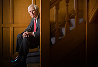 Sir Anthony Habgood, chair of the RELX Group, at his office in Norwich.
