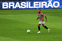 4th October 2020; Couto Pereira Stadium, Curitiba, Parana, Brazil; Brazilian Series A, Coritiba versus Sao Paulo;  Daniel Alves of Sao Paulo