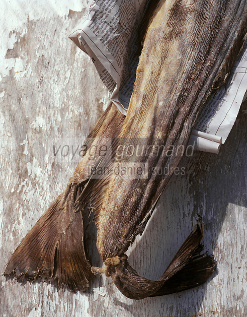 Europe/France/Auvergne/12/Aveyron: Ingrédients du stockfish ou estofinado