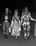ENRICO LUCHERINI CON ADRIANA ASTI<br /> FESTA PER I 30 ANNI DI HELMUT BERGER JACKIE O' ROMA 1974
