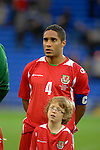 International Friendly match between Wales and Scotland at the new Cardiff City Stadium : Wales Captain Ashley Williams.