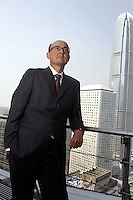 Mr. Conrado Engel posed in Central, Hong Kong. The International Financial Centre is at the background.<br />27 Feb 2008