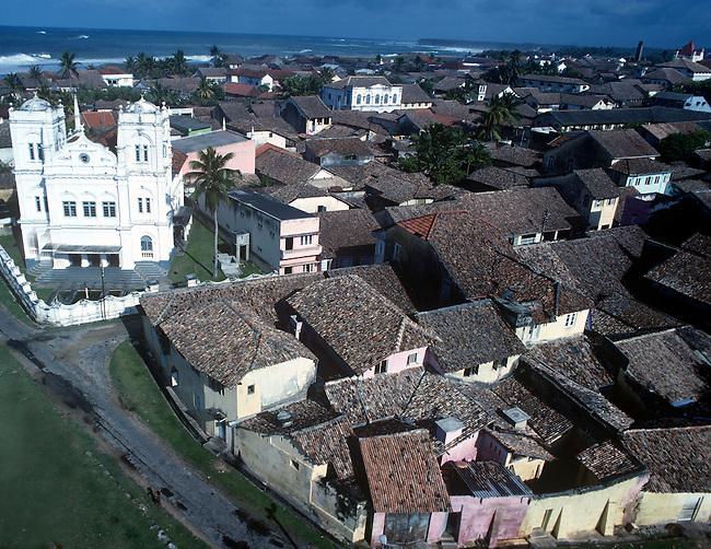 Cityscape, Galle Fort, Sri Lanka