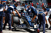 July 3rd 2021; F1 Grand Prix of Austria, qualifying sessions;  TSUNODA Yuki (jap), Scuderia AlphaTauri Honda AT02 pitlane during the  2021 Austrian Grand Prix, 9th round of the 2021 FIA Formula One World Championship