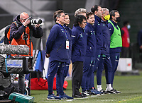 Swiss head coach Nils Nielsen pictured during the 2nd Womens International Friendly game between France and Switzerland at Stade Saint-Symphorien in Longeville-lès-Metz, France.