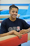 21.9.10 British Gymnastics Press Day.Members of the National Squad in training before the Commonwealth and World Championships.Becky Downie.