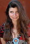 Carole Martinez, French writer. Saint Malo, May 28, 2012.