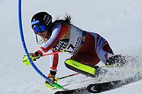 20th February 2021; Cortina d'Ampezzo, Italy; FIS Alpine World Ski Championships, Women's Slalom  Franziska Gritsch (AUT)