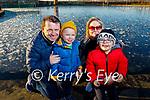 Ken, Harry, Liz and Alex Lennon enjoying a stroll around the Tralee Bay Wetlands on Saturday.