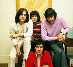 Kinks 1969 Dave Davies Ray Davies Mick Avory John Dalton<br /> © Chris Walter