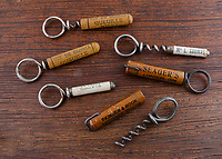 BNPS.co.uk (01202) 558833.<br /> Pic: SpecialAuctionServices/BNPS<br /> <br /> Pictured:  Six advertising one piece of wire corkscrews<br /> <br /> What a corker...<br /> <br /> An incredible collection of corkscrews dating back 300 years and from all over the world has emerged for sale for £20,000.<br /> <br /> Retired hotelier François Touzin has had a passion for collecting corkscrews for 45 years and this sale is less than half of what he has amassed in his travels around the globe.<br /> <br /> The 470 corkscrews range from the early 18th century through to miniature corkscrews from the 1970s that were designed for opening travelling ladies' and gentlemen's perfumes and vary in estimates from £50 to £800.<br /> <br /> The collection will be sold with Special Auction Services tomorrow (Tues).
