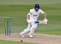 Yorkshire's Adam Lyth in action during Kent CCC vs Yorkshire CCC, LV Insurance County Championship Group 3 Cricket at The Spitfire Ground on 15th April 2021