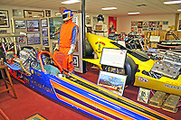 Auto display Don Garlits Museum of Drag Racing Ocala Florida