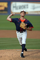 February 21 2010: Dylan Floro of Cal. St. Fullerton during game against Cal. St. Long Beach at Goodwin Field in Fullerton,CA.  Photo by Larry Goren/Four Seam Images