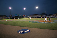 NCAA Baseball, Rosenblatt Stadium, College World Series. Photo by Andrew Woolley / Four Seam Images...