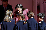 Queen Letizia of Spain attends to Red Cross World Day at Red Cross Headquarters in Madrid, Spain. October 04, 2018. (ALTERPHOTOS/A. Perez Meca)