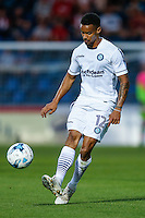 Paris Cowan-Hall of Wycombe Wanderers  during the Friendly match between Wycombe Wanderers and Brentford at Adams Park, High Wycombe, England on 19 July 2016. Photo by David Horn PRiME Media Images.