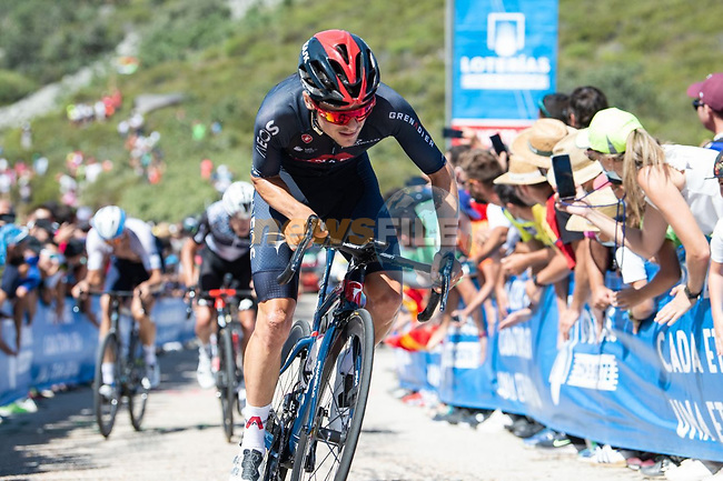 Tom Pidcock (GBR) Ineos Grenadiers during Stage 14 of La Vuelta d'Espana 2021, running 165.7km from Don Benito to Pico Villuercas, Spain. 28th August 2021.     <br /> Picture: Cxcling | Cyclefile<br /> <br /> All photos usage must carry mandatory copyright credit (© Cyclefile | Cxcling)