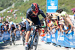 Tom Pidcock (GBR) Ineos Grenadiers during Stage 14 of La Vuelta d'Espana 2021, running 165.7km from Don Benito to Pico Villuercas, Spain. 28th August 2021.     <br /> Picture: Cxcling   Cyclefile<br /> <br /> All photos usage must carry mandatory copyright credit (© Cyclefile   Cxcling)