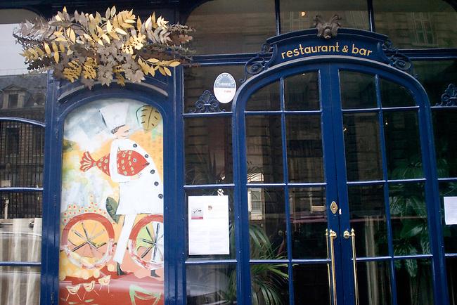Exterior, Maceo Restaurant, Paris, France, Europe