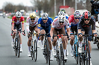 Oliver Naesen (BEL/AG2R Citroën) pushing hard in the chase group<br /> <br /> 64th E3 Classic 2021 (1.UWT)<br /> 1 day race from Harelbeke to Harelbeke (BEL/204km)<br /> <br /> ©kramon