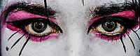 Escuela de artes opciones teatro UNISON.<br /> Retrato de rostro, Ojos y maquillaje