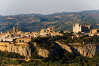 Blick auf Orvieto, Umbrien, Italien