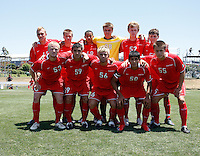2009 US Soccer Academy Showcase Finals at Home Depot Center in Carson, California Friday July 10, 2009.