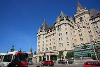 Ottawa (ON) CANADA - Mai 21, 2012 -Chateau Laurier..