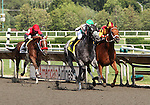 4 July 2010: INFORMED DECISION with jockey Julian Leparoux duels down the stretch with RINTERVAL and jockey Julio Felix during the 22nd running of the G3 Chicago Handicap at Arlington Park in Arlington Heights, Illinois.
