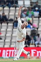 Kyle Jamieson, New Zealand in action during India vs New Zealand, ICC World Test Championship Final Cricket at The Hampshire Bowl on 22nd June 2021