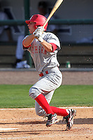 Florida Southern Adam Miller #1 during a exhibition game vs. the Detroit Tigers at Joker Marchant Stadium in Lakeland, Florida;  February 25, 2011.  Detroit defeated Florida Southern 17-5.  Photo By Mike Janes/Four Seam Images