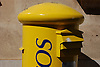 yellow spanish postbox<br /> <br /> buzón amarillo<br /> <br /> gelber spanischer Briefkasten<br /> <br /> 3008 x 2000 px<br /> 150 dpi: 50,94 x 33,87 cm<br /> 300 dpi: 25,47 x 16,93 cm